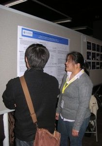 March 2007:  Susan at the National ACS Meeting in Chicago, Illinois