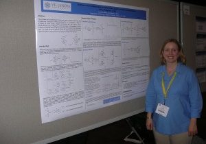 March 2007:  Laurie at the National ACS Meeting in Chicago, Illinois