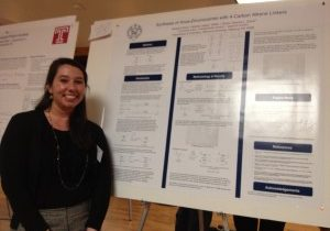 Spring 2012: Margaret at the Philly YCC ACS 12th Annual Poster Session